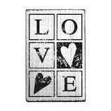 こどものかお ヴィンテージスタンプ 2256−022 LOVE│スタンプ ラバースタンプ