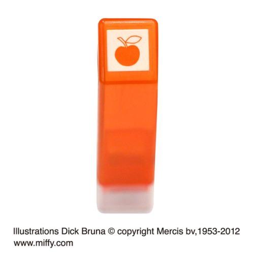 こどものかお ブルーナ スケジュール浸透印A アップル 2061-004