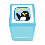こどものかお ミニスタンプ浸透印 0542-181 ペンギン イイネ│スタンプ キャラクター浸透印