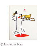 こどものかお 動物の楽団スタンプE 0954−008