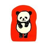 こどものかお パンダのスタンプ 0962−001