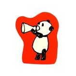 こどものかお パンダのスタンプ 0962−005