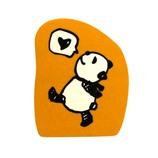 こどものかお パンダのスタンプ 0962−009