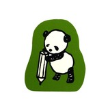 こどものかお パンダのスタンプ 0962−011