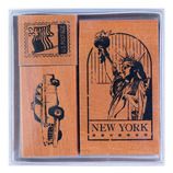こどものかお ワールドスタンプ 0931−002 ニューヨーク