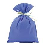 Z&K クレープバッグL ブルー 10-525