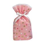 Z&K ドットバッグ 11−156 ピンク