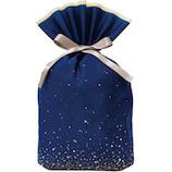 Z&K(ゼットアンドケイ) スパークリングバッグ L 11‐208 ネイビー│ラッピング用品 ラッピング袋