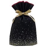 Z&K(ゼットアンドケイ) スパークリングバッグ L 11−212 ブラック│ラッピング用品 ラッピング袋