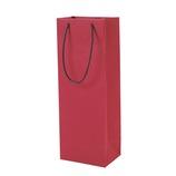 Z&K ボトルバッグ レッド 22-564│ラッピング用品 手提げ袋