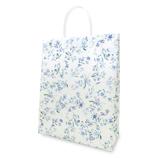 Z&K(ゼットアンドケイ) ビニールキャリーバッグ 24-237 ワスレナグサブルー│ラッピング用品 手提げ袋