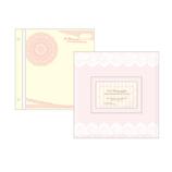 Z&K ピタットアルバム ギフトフレーム 60−345 ウェディングピンク