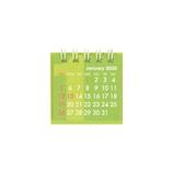 【2020年版・卓上】 Z&K カレンダー ミニミニ 68−871 グリーン
