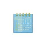 【2020年版・卓上】 Z&K カレンダー ミニミニ 68−872 ブルー