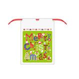 【クリスマス】 Z&K ビニールバッグ 76−169 グリーン