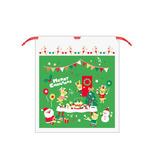 【クリスマス】 Z&K ビニールバッグ 76−170 グリーン