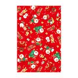 【クリスマス】Z&K(ゼットアンドケー) ペーパー 76−288 サンタハウス レッド