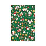 【クリスマス】 Z&K(ゼットアンドケイ) ペーパー 76−582 ハッピークリスマスグリーン