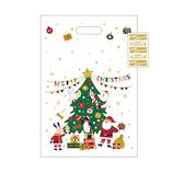 【クリスマス】 Z&K(ゼットアンドケイ) ミルキーバッグ 76−711 クリスマスツリー 5枚入