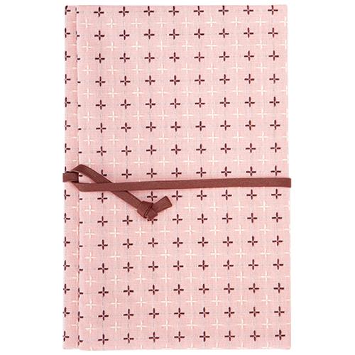 PHP 京都の老舗ふろしき屋さんが作った御朱印帳入れ 75801 十字刺子 ピンク