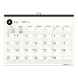 【2021年版4月はじまり】 エヌ・プランニング A3タイムス CKN‐02│カレンダー 壁掛けカレンダー