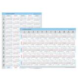 【2021年版・ポスター】 エヌ・プランニング A2 5年カレンダー 縦横両面 CK‐36
