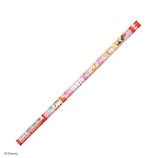 カミオジャパン かきかた鉛筆 赤 14911 ディズニー プリンセス│鉛筆・鉛筆削り 鉛筆