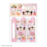 カミオジャパン 鉛筆キャップ 16808 ディズニー ツムツム 5個入