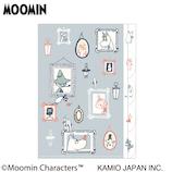 カミオジャパン ムーミン ダイカット5インデックスクリアファイル 25673 チアフルポートレイト