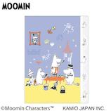 カミオジャパン ムーミン ダイカット5インデックスクリアファイル 27467 お絵かき