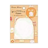カミオジャパン めくってかわってFUSEN 742105 トースト│ノート・メモ 付箋紙