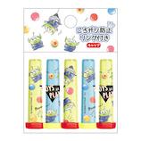 カミオジャパン ころがり防止リング付き鉛筆キャップ 63053 エイリアン 5本入