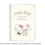 【2019年10月始まり】 カミオジャパン ハローキティ カート B6 マンスリー 63702 ホワイト 月曜始まり