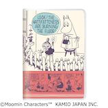 【2019年10月始まり】 カミオジャパン ムーミン ニョロニョロたち B6 マンスリー 63730 ホワイト 月曜始まり