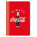 【2018年10月始まり】 カミオジャパン コカ・コーラ B6 マンスリー 83128 レッド 月曜始まり