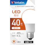 三菱ケミカルメディア LED電球 LDA4L−G/LCV3 電球色