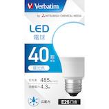 三菱ケミカルメディア LED電球 LDA4D-G/LCV3 昼光色