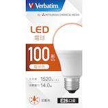 三菱ケミカルメディア LED電球 LDA14L-G/LCV3 電球色