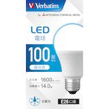三菱ケミカルメディア LED電球 LDA14D−G/LCV3 昼光色