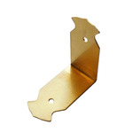 コニ・ビオラ 真鍮飾金具 エル K-62 4個入