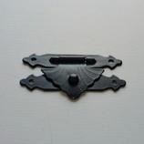 コニビオラ 房さがり F-53N 真鍮 黒塗装 30mm 1個