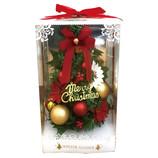 【クリスマス】 デコワイド ポインセチア WG−7921