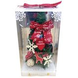 【クリスマス】 デコレーションワイドツリー ノルディック WG-9921
