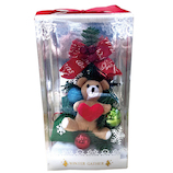 【クリスマス】 デコレーションワイドツリー TOY−BOX WG-9924
