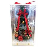 【クリスマス】 デコレーションワイドツリー サンタクロース WG−9922
