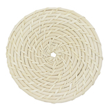 竹の精 籐鍋敷き 小 34-410S│鍋