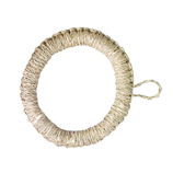 竹の精 イ草鍋敷き 34−022A 18cm