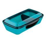 エッジ メンズタイト1段ランチボックス ブルー│お弁当箱 弁当箱