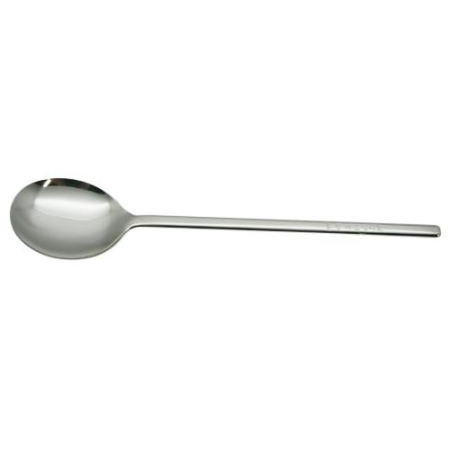 朝鮮スプーン無地 ハンドル文字付 全長21.7cm│食器・カトラリー スプーン