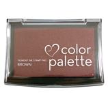 ツキネコ カラーパレット1色 54 ブラウン